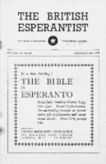 The British Esperantist : the official organ of the British Esperanto Association. Vol. 47, no 557/558 (September/October 1951)