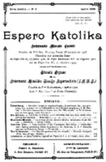 Espero Katolika.Nova Kolekto, No 8 (1925)