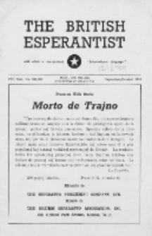 The British Esperantist : the official organ of the British Esperanto Association. Vol. 49, no 581/582 (September/October 1953)