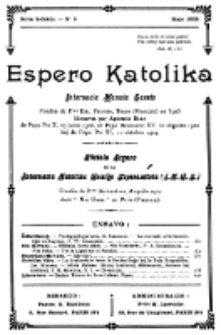 Espero Katolika.Nova Kolekto, No 9 (1925)
