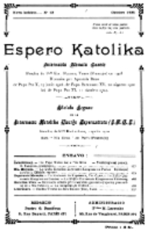 Espero Katolika.Nova Kolekto, No 11 (1925)