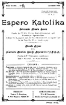 Espero Katolika.Nova Kolekto, No 14 (1925)