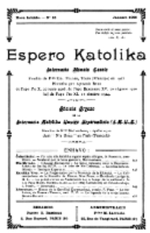 Espero Katolika.Nova Kolekto, No 15 (1926)
