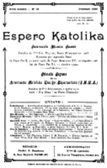 Espero Katolika.Nova Kolekto, No 16 (1926)