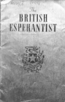 The British Esperantist : the official organ of the British Esperanto Association. Vol. 50, no 593/594 (September/October 1954)