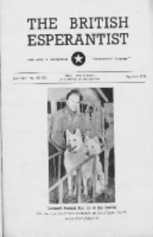 The British Esperantist : the official organ of the British Esperanto Association. Vol. 51, no 601/602 (May/June 1955)