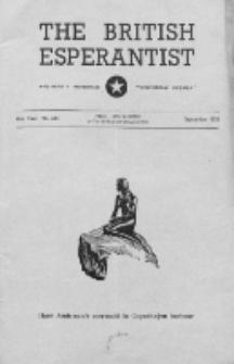 The British Esperantist : the official organ of the British Esperanto Association. Vol. 51, no 605 (September 1955)