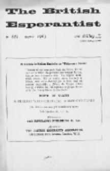 The British Esperantist : the official organ of the British Esperanto Association. Vol. 59, no 688 (March 1963)