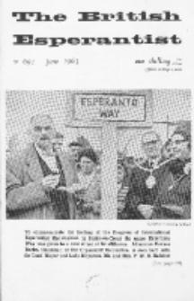 The British Esperantist : the official organ of the British Esperanto Association. Vol. 59, no 691 (June 1963)