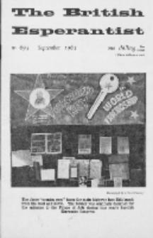 The British Esperantist : the official organ of the British Esperanto Association. Vol. 59, no 693 (September 1963)