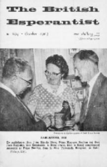 The British Esperantist : the official organ of the British Esperanto Association. Vol. 59, no 694 (October 1963)