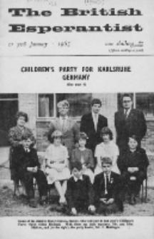 The British Esperantist : the official organ of the British Esperanto Association. Vol. 61, no 708 (January 1965)