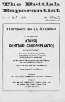 The British Esperantist : the official organ of the British Esperanto Association. Vol. 61, no 711 (April 1965)