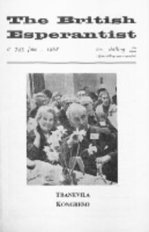 The British Esperantist : the official organ of the British Esperanto Association. Vol. 64, no 745 (June 1968)