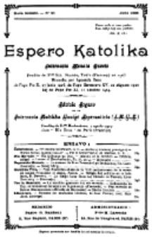 Espero Katolika.Nova Kolekto, No 21 (1926)