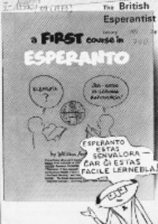 The British Esperantist : the official organ of the British Esperanto Association. Vol. 69, no 790 (January 1973)