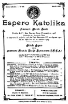 Espero Katolika.Nova Kolekto, No 28 (1927)