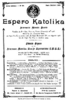 Espero Katolika.Nova Kolekto, No 34 (1927)