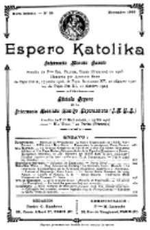 Espero Katolika.Nova Kolekto, No 35 (1927)