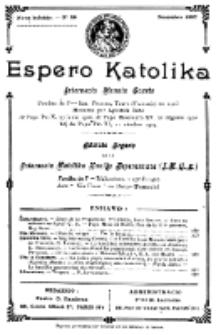 Espero Katolika.Nova Kolekto, No 36 (1927)