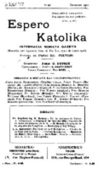 Espero Katolika.Jaro 7a, No 68 (1910)