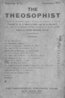 Theosophist. Vol. 43, nr 5 (1921/1922)