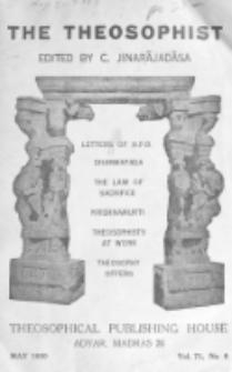 Theosophist. Vol. 71, nr 8 (1949/1950)