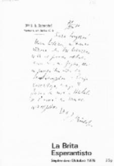 The British Esperantist : the official organ of the British Esperanto Association. Vol. 72, no 813 (Septembro-Octobro 1976)