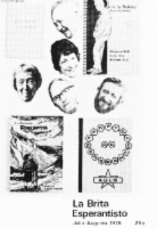 The British Esperantist : the official organ of the British Esperanto Association. Vol. 72, no 812 (Julio-Augusto 1976)