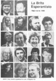 The British Esperantist : the official organ of the British Esperanto Association. Vol. 77, no 846 (Majo-Junio 1982)