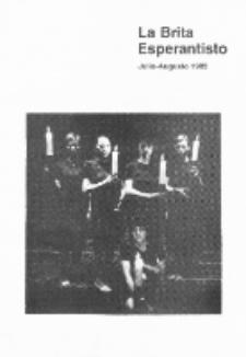 The British Esperantist : the official organ of the British Esperanto Association. Vol. 77, no 847 (Julio-Augusto 1982)