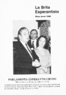 The British Esperantist : the official organ of the British Esperanto Association. Vol. 80, no 858 (Majo-Junio 1984)