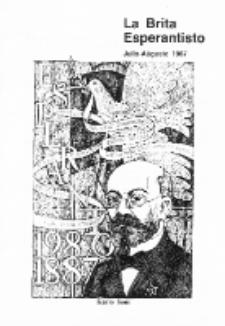 The British Esperantist : the official organ of the British Esperanto Association. Vol. 83, no 878 (Julio-Aŭgusto 1987)