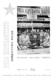 Pola Esperantisto : esperantaj sciigoj por pollingvanoj. Jaro 41, no 3 (Majo-Junio 1961)