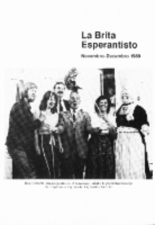 The British Esperantist : the official organ of the British Esperanto Association. Vol. 85, no 892 (Novembro-Decembro 1989)