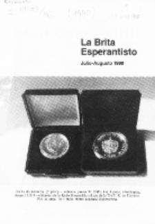 The British Esperantist : the official organ of the British Esperanto Association. Vol. 86, no 896 (Julio-Aŭgusto 1990)