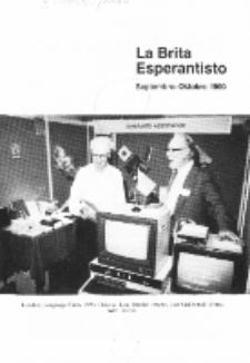 The British Esperantist : the official organ of the British Esperanto Association. Vol. 86, no 897 (Septembro-Oktobro 1990)