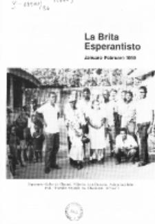 The British Esperantist : the official organ of the British Esperanto Association. Vol. 86, no 893 (Januaro-Februaro 1990)