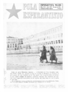 Pola Esperantisto : esperantaj sciigoj por pollingvanoj. Jaro 43, no 5-6 (Oktobro-Decembro 1963)