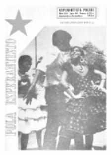 Pola Esperantisto : esperantaj sciigoj por pollingvanoj. Jaro 44, no 5-6 (Septembro-Decembro 1964)