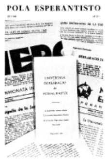 Pola Esperantisto : esperantaj sciigoj por pollingvanoj. 1968, 1/2