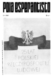 Pola Esperantisto : esperantaj sciigoj por pollingvanoj. 1969, 5