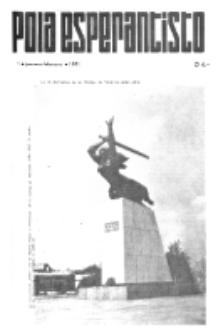 Pola Esperantisto : esperantaj sciigoj por pollingvanoj. 1971, 1 (Januaro-Februaro)