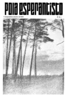 Pola Esperantisto : esperantaj sciigoj por pollingvanoj. 1971, 5 (Septembro-Oktobro)