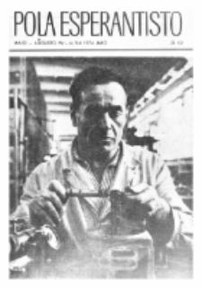 Pola Esperantisto : esperantaj sciigoj por pollingvanoj. 1974, 3/4 (Majo-Aŭgusto)