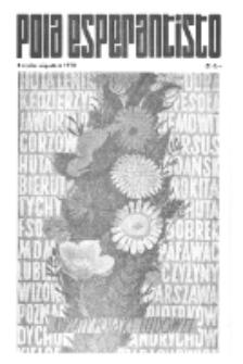 Pola Esperantisto : esperantaj sciigoj por pollingvanoj. 1972, 4 (julio-Aŭgusto)