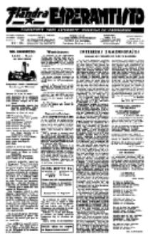 Flandra Esperantisto : tijdschrift voor esperanto-onderwijs en -propaganda / Flandra Esperanto Instituto.Jaargang 18, nummer 4 (1951)