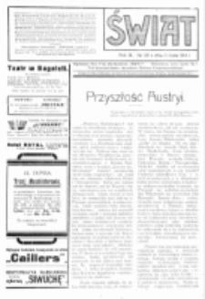 Świat : pismo tygodniowe ilustrowane poświęcone życiu społecznemu, literaturze i sztuce. R. 9 (1914), nr 28 (11 lipca)