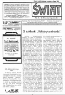 Świat : pismo tygodniowe ilustrowane poświęcone życiu społecznemu, literaturze i sztuce. R. 9 (1914), nr 50 (12 grudnia)