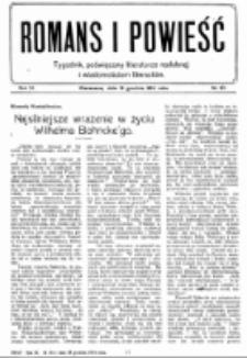 Romans i Powieść. R. 6, nr 50 (12 grudnia 1914)